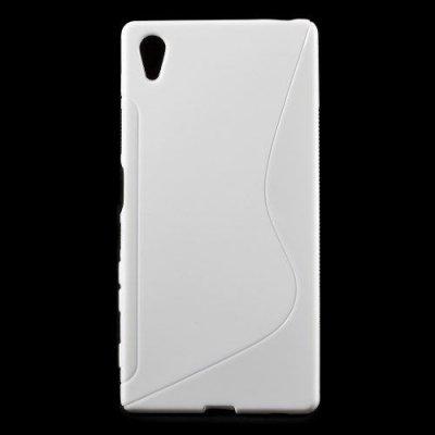 Flexibelt S-Design Skal till Sony Xperia Z5 Vit
