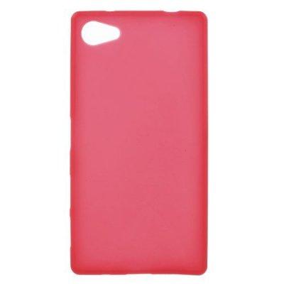 Flexibelt Skal till Sony Xperia Z5 Compact Röd