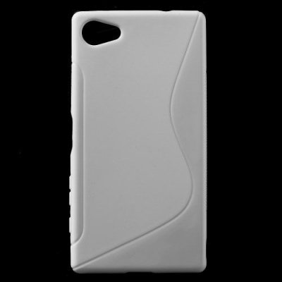 Flexibelt S-Design Skal till Sony Xperia Z5 Compact Vit