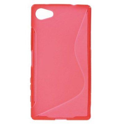 Flexibelt S-Design Skal till Sony Xperia Z5 Compact Röd