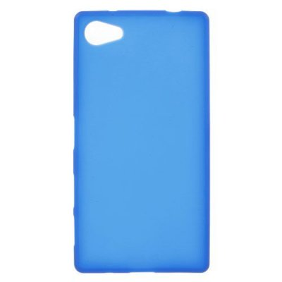 Flexibelt Skal till Sony Xperia Z5 Compact Blå