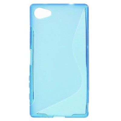 Flexibelt S-Design Skal till Sony Xperia Z5 Compact Blå