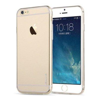 Flexibelt tunt skal till iPhone 6 Transparant