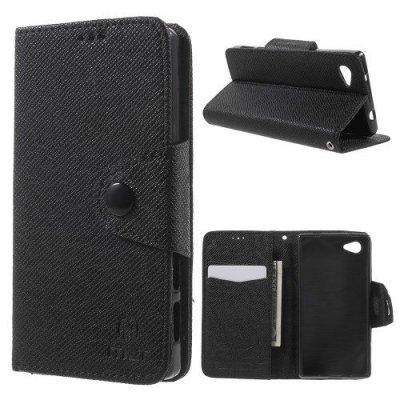 Plånboksfodral MLT till Sony Xperia Z5 Compact Svart