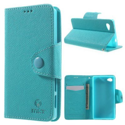 Plånboksfodral MLT till Sony Xperia Z5 Compact Blå