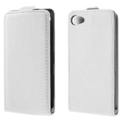 Flipfodral till Sony Xperia Z5 Compact Vit