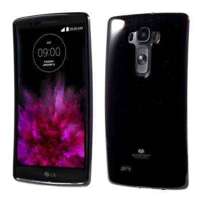 Flexibelt Skal till LG G Flex 2 Svart Jelly case