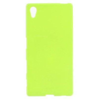 Flexibelt Skal till Sony Xperia Z5 Grön - TPU skal med blank yta