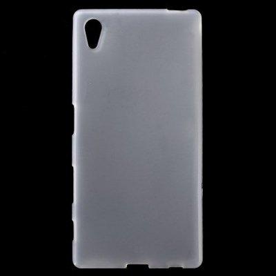 Flexibelt Vit Skal till Sony Xperia Z5 - TPU skal med matt yta
