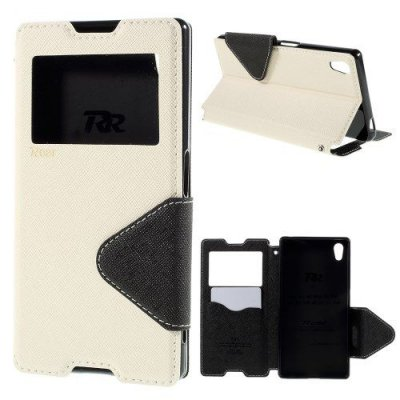 View fodral till Sony Xperia Z5 Diary View Cover Vit