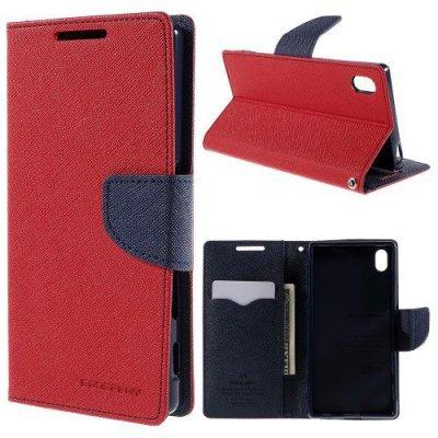 Plånboksfodral till Sony Xperia Z5 Röd Fancy Diary