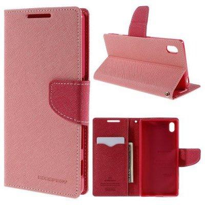 Plånboksfodral till Sony Xperia Z5 Rosa Fancy Diary