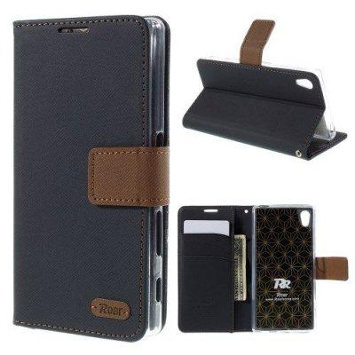 Plånboksfodral Roar till Sony Xperia Z5 Svart