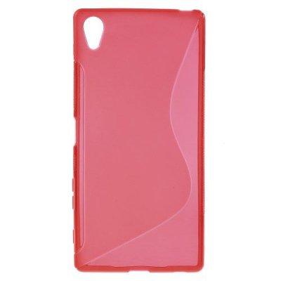 Flexibelt S-Design Skal till Sony Xperia Z5 Premium Röd