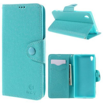 Plånboksfodral MLT till Sony Xperia Z5 Premium Blå