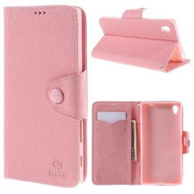 Plånboksfodral MLT till Sony Xperia Z5 Premium Rosa