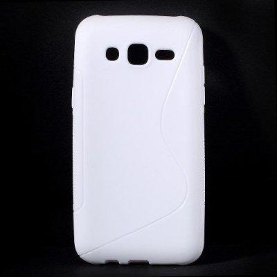 Flexibelt S-Design Skal till Samsung Galaxy J5 Vit