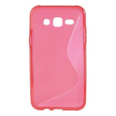 Flexibelt S-Design Skal till Samsung Galaxy J5 Röd
