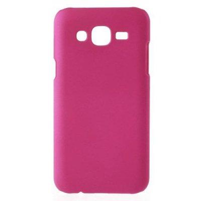 Hårt Skal till Samsung Galaxy J5 Rödrosa