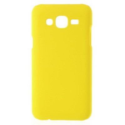 Hårt Skal till Samsung Galaxy J5 Gul