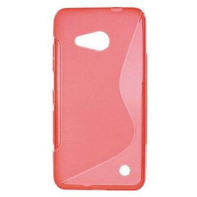 Flexibelt Skal S-Design till Microsoft Lumia 550 Röd