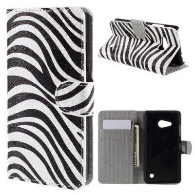 Plånboksfodral till Microsoft Lumia 550 Med motiv zebra