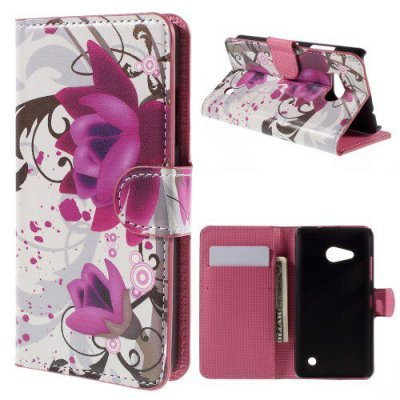 Plånboksfodral till Microsoft Lumia 550 - Motiv Kapok blomma