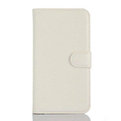 Plånboksfodral till Microsoft Lumia 550 - Vit litchi