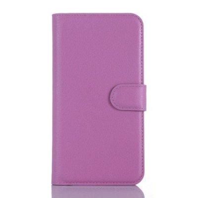 Plånboksfodral till Microsoft Lumia 550 - Lila litchi