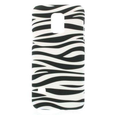 Hårt Skal till Samsung Galaxy S5 Mini - Motiv Zebra