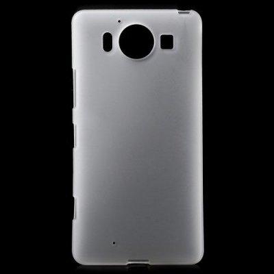 Flexibelt Skal till Microsoft Lumia 950 Vit