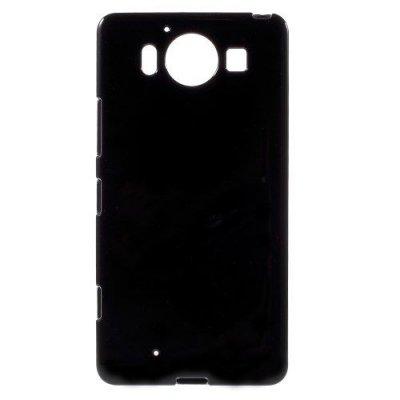 Microsoft Lumia 950 Jelly TPU Skal Svart