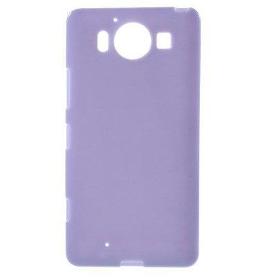 Microsoft Lumia 950 Jelly TPU Skal Lila