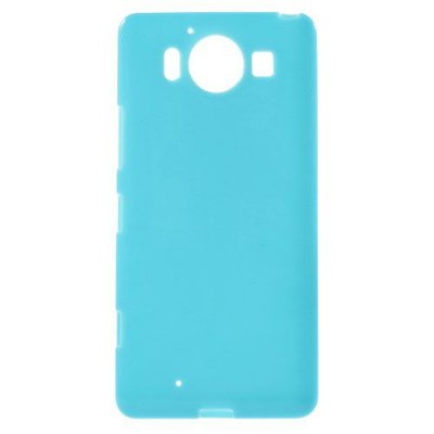 Microsoft Lumia 950 Jelly TPU Skal Blå