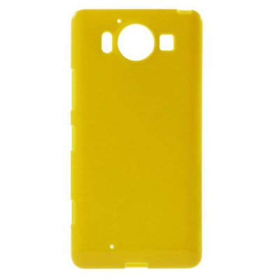 Microsoft Lumia 950 Jelly TPU Skal Gul