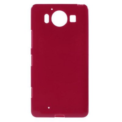 Microsoft Lumia 950 Jelly TPU Skal Röd