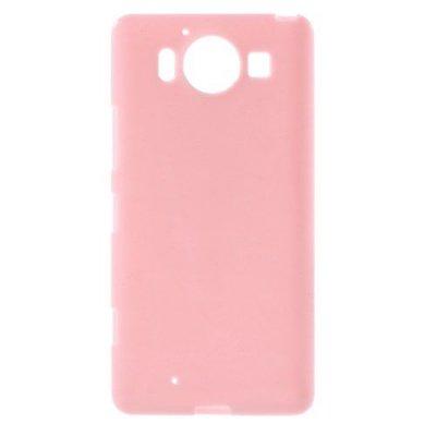 Microsoft Lumia 950 Jelly TPU Skal Rosa