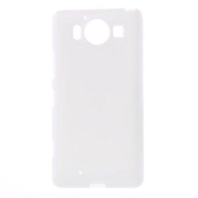 Microsoft Lumia 950 Jelly TPU Skal Vit