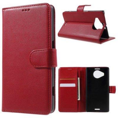 Plånboksfodral till Microsoft Lumia 950XL - Röd