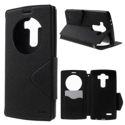 View fodral till LG G4 - Diary View Cover Svart