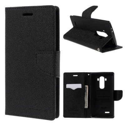 Plånboksfodral Fancy Diary till LG G4 - Svart