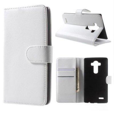 Plånboksfodral till LG G4 - Vit