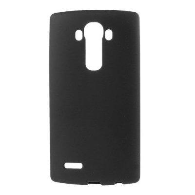 Flexibelt Svart Skal till LG G4 - TPU skal med matt yta