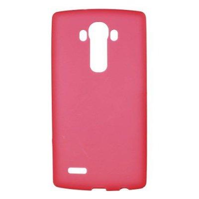 Flexibelt Röd Skal till LG G4 - TPU skal med matt yta