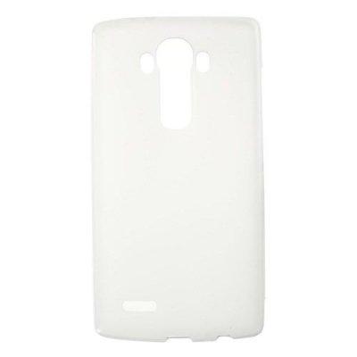 Flexibelt Vit Skal till LG G4 - TPU skal med matt yta