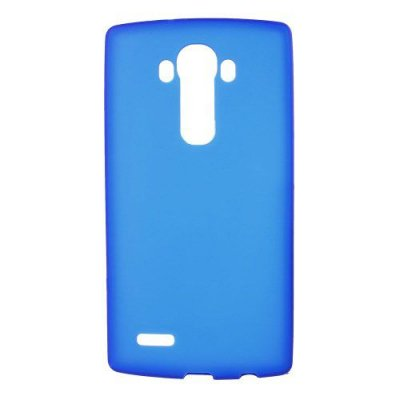 Flexibelt Blå Skal till LG G4 - TPU skal med matt yta
