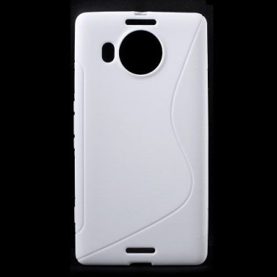 Flexibelt Skal S-Design till Microsoft Lumia 950XL Vit