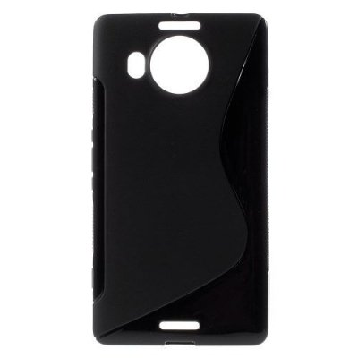 Flexibelt Skal S-Design till Microsoft Lumia 950XL Svart