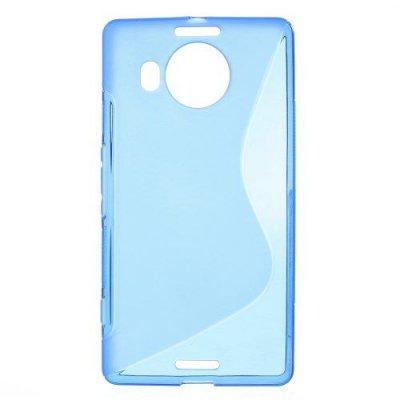 Flexibelt Skal S-Design till Microsoft Lumia 950XL Blå