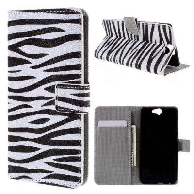 Plånboksfodral till HTC One A9 Zebra